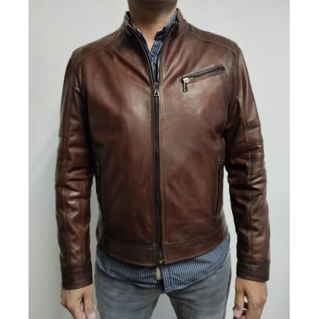 Leather Jacket Pegaso