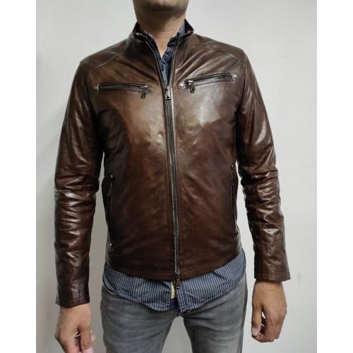 Leather Jacket Taormina